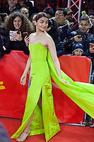 Actress Alia Bhatt with fans at the premiere gala screening of the film Gully Boy at the Berlinale International Film Festival, on Saturday 9th February 2019, Berlin, Germany.