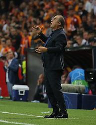 September 18, 2018 - °Stanbul, Türkiye - Galatasaray's head coach Fatih Terim during Galatasaray - Lokomotiv Moscow UEFA Champions League Game at Turk Telekom Arena, 18th of Sept. 2019. (Credit Image: © Tolga Adanali/Depo Photos via ZUMA Wire)
