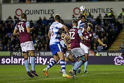 Reading can't capitalise on a corner kick - Mandatory by-line: Jason Brown/JMP - 18/10/2016 - FOOTBALL - Madejski Stadium - Reading, England - Reading v Aston Villa - Sky Bet Championship