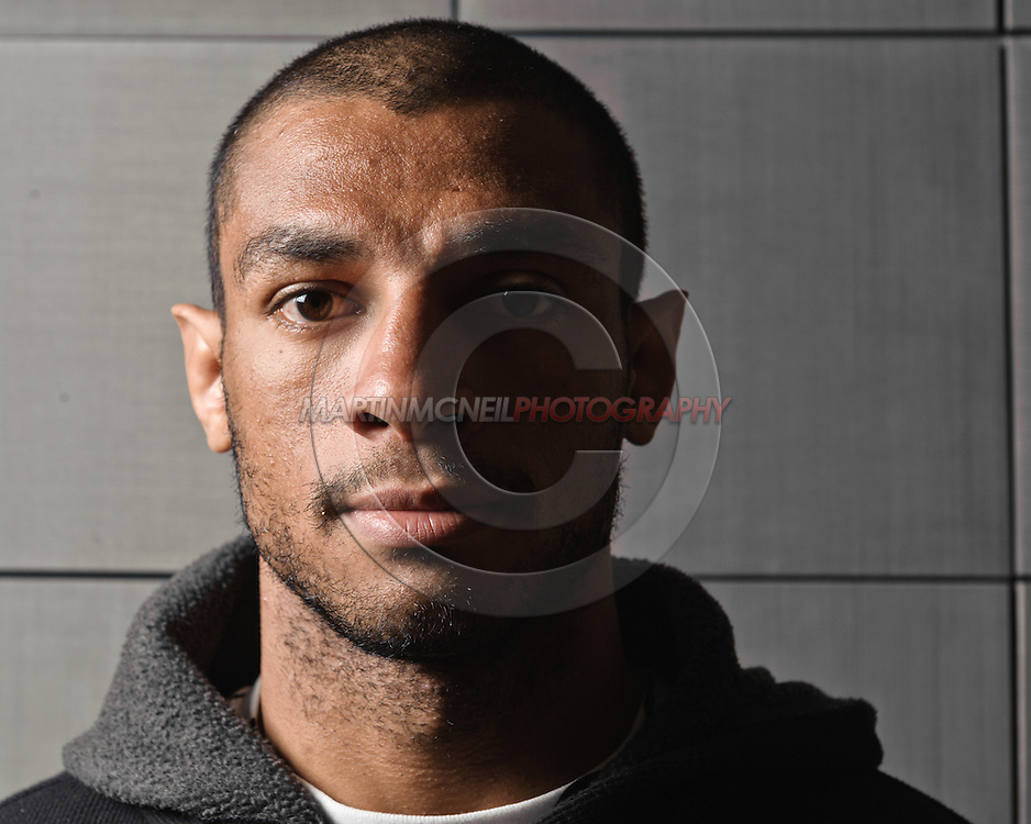 "A portrait of mixed martial arts athlete Roan ""Jucao"" Carneiro"