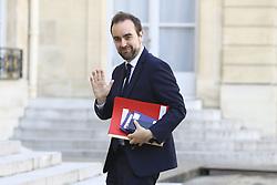 March 29, 2019 - Paris, France - Sebastien Lecornu - Secretaire d Etat aupres de la ministre de la cohesion des territoires charge des collectivites territoriales (Credit Image: © Panoramic via ZUMA Press)