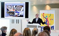 UTRECHT - Johan Wakkie. Presentatie KNHB boek 115 jaar Nederland Hockeyland. FOTO KOEN SUYK