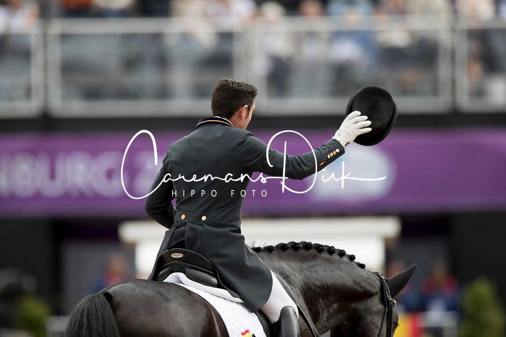 Jurado Lopez Severo Jesus, ESP, Deep Impact 3<br /> FEI European Dressage Championships - Goteborg 2017 <br /> &copy; Hippo Foto - Dirk Caremans