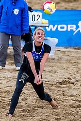 25-08-2018 NED: DELA Beach NK Volleyball, Scheveningen<br /> Ilke Meertens #2