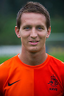NETHERLANDS, HOENDERLOO : Dutch international football player Luuk de Jong  in Hoenderloo on May 31, 2012. AFP PHOTO/ ROBIN UTRECHT
