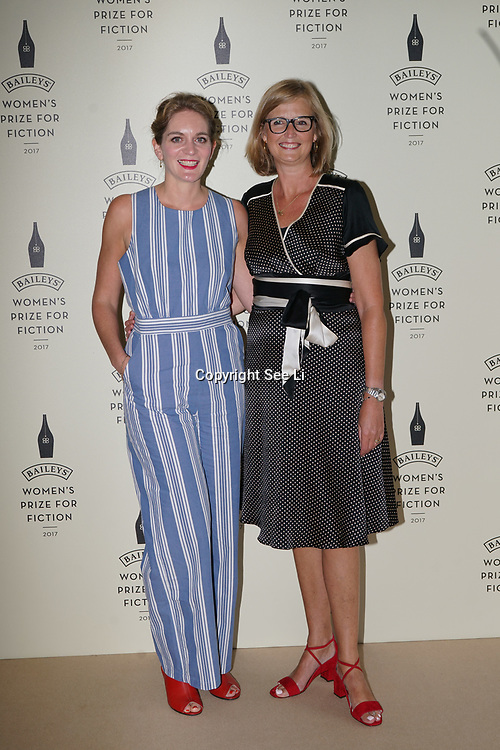 London,UK. 7th June 2017. Felicity Blunt attends a photocall The Baileys Prize for Women's Fiction Awards 2017 at the The Royal Festival Hall, Southbank Centre. by See Li