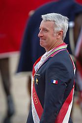 Bost Roger Yves (FRA) winner of the Gold medal <br /> PSI FEI European Championships Jumping - Herning 2013<br /> © Dirk Caremans