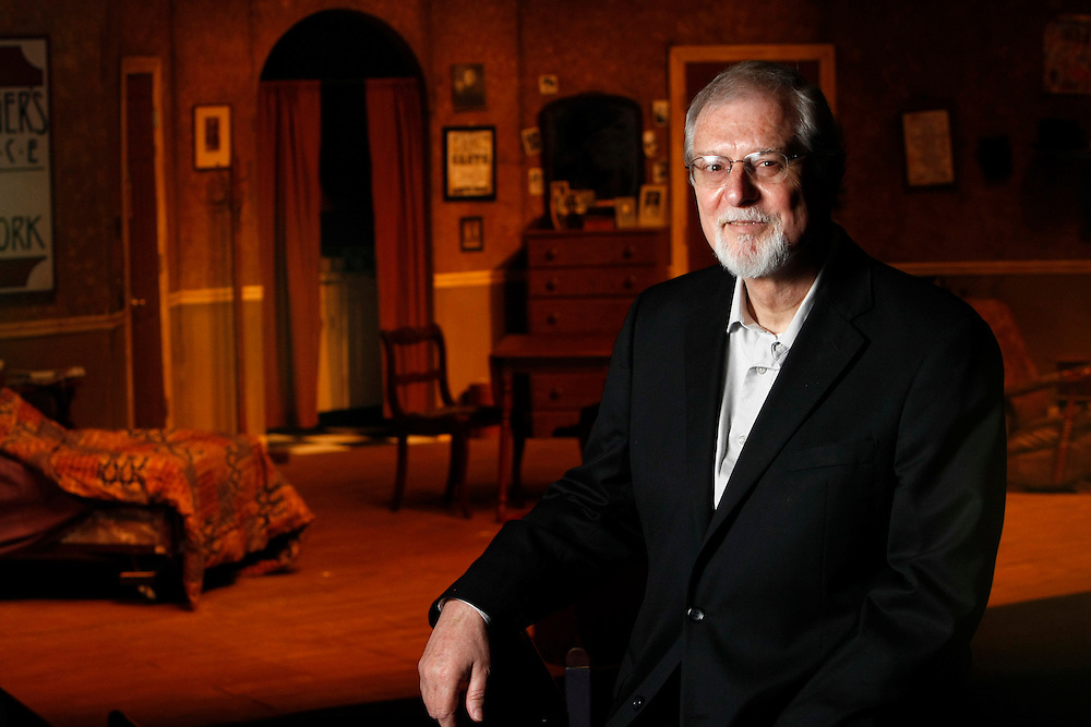 Jim Coppens pictured at the South Bend Civic Theatre in South Bend.<br /> Columbus Corporate Photography