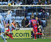 Photo: Lee Earle.<br /> Coventry City v Crystal Palace. Coca Cola Championship. 13/01/2007. Coventry's Kevin Kyle (L) heads home their second.