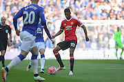 Marcus Rashford of Manchester United during the The FA Cup semi final match between Everton and Manchester United at Wembley Stadium, London, England on 23 April 2016. Photo by Phil Duncan.