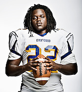 Oxford High running back Mont Dean, in Oxford, Miss. on Wednesday, August 30, 2011, has rushed for 256 yards through the first two games of the season.
