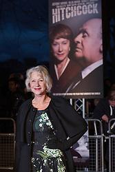© licensed to London News Pictures. London, UK 08/12/2012. Helen Mirren attending Hitchcock UK Premiere at BFI Southbank in London. Photo credit: Tolga Akmen/LNP