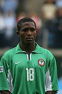 19.08.2003, Kupittaa Stadium, Turku, Finland.FIFA U-17 World Championship - Finland 2003.Match 17: Group B - Nigeria v Argentina.Morufu Adetoro - Nigeria.©Juha Tamminen