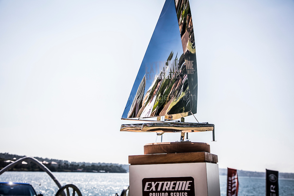 The Extreme sailing Series 2016. Act 8. Sydney. Australia . Day 1. Image licensed to Jesus Renedo/Lloyd Images
