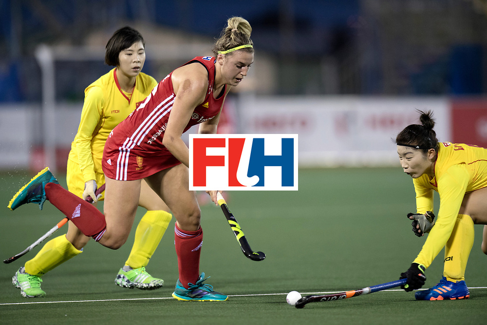 AUCKLAND - Sentinel Hockey World League final women<br /> Match id 10302<br /> ENG v China<br /> Foto:  Lily Owsley <br /> WORLDSPORTPICS COPYRIGHT FRANK UIJLENBROEK