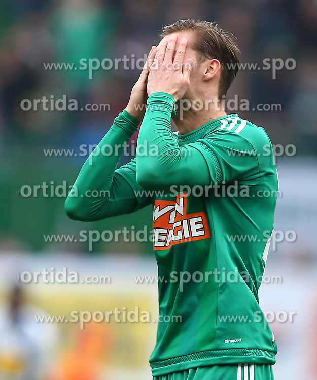 28.02.2016, Ernst Happel Stadion, Wien, AUT, 1. FBL, SK Rapid Wien vs SV Groedig, 24. Runde, im Bild Mario Pavelic (SK Rapid Wien) // during a Austrian Football Bundesliga Match, 24th Round, between SK Rapid Vienna and SV Groedig at the Ernst Happel Stadion, Vienna, Austria on 2016/02/28. EXPA Pictures © 2016, PhotoCredit: EXPA/ Thomas Haumer