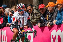 NIEWIADOMA Katarzyna of WM3 Energie after UCI Women WorldTour 81st La Flèche Wallonne at Huy Belgium, 19 April 2017. Photo by Pim Nijland / PelotonPhotos.com | All photos usage must carry mandatory copyright credit (Peloton Photos | Pim Nijland)