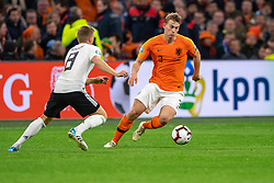 24-03-2019 NED: UEFA Euro 2020 qualification Netherlands - Germany, Amsterdam<br /> Netherlands lost the match 3-2 in the last minute / Matthijs de Ligt #3 of The Netherlands
