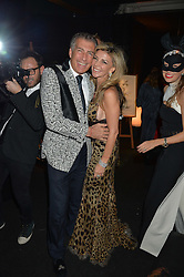 LISA TCHENGUIZ and STEVE VARSANO at The Animal Ball presented by Elephant Family held at Victoria House, Bloomsbury Square, London on 22nd November 2016.