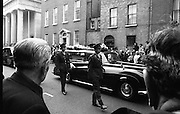 State Funeral Of Mrs Thomas Clarke..1972..08.10.1972..10.08.1972..8th October 1972..Today the state funeral of Mrs Kathleen Clarke took place at the Pro Cathedral,Dublin. Mrs Clarke was the wife of the late Thomas Clarke who was executed in Kilmainham Jail in 1916. Thomas Clarke was a signatory of the Irish Proclamation of 1916.