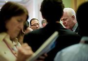 Sep 21, 2010 - Washington, District of Columbia, U.S., - Senator JOHN CORNYN (R-TX) speaks to the media before the cloture vote on the 2011 defense authorization bill.(Credit Image: © Pete Marovich/ZUMA Press)