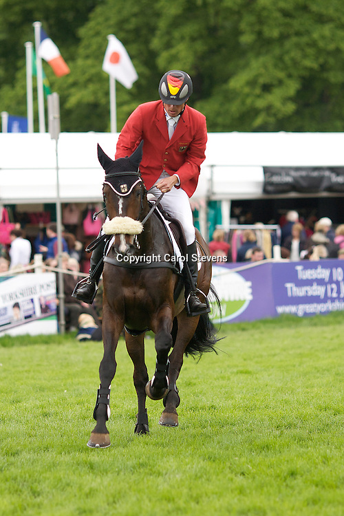 Equi-Trek Bramham International Horse Trials 2012 CIC3*<br /> Peter Thomsen and Horsewares Cayenne  (GER)