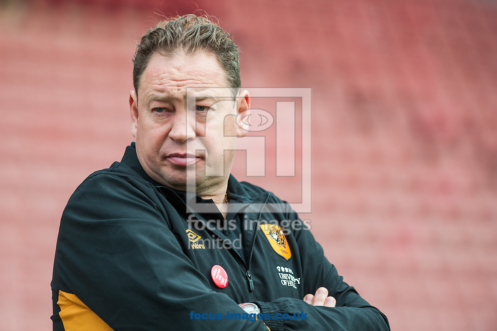 Hull City manager Leonid Slutsky prior to the Sky Bet Championship match at Oakwell, Barnsley<br /> Picture by Matt Wilkinson/Focus Images Ltd 07814 960751<br /> 21/10/2017