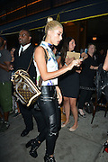 Aug. 28, 2014 - New York City, NY, United States - <br /> <br /> Hailey Baldwin<br /> <br /> Hailey Baldwin arrives at DuJour Magazine's Jason Binn celebrating Kendall and Kylie Jenner's Bruce Weber shoot presented by Juice Press at Lavo Restaurant on August 28, 2014 in New York City<br /> ©Exclusivepix