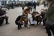 HEN PARTY WITH WIND-UP PENISES, Ladies Day, Cheltenham Festival, 13 March 2019