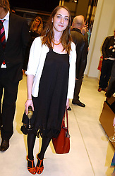 POPPY DE VILLENEUVE at a party to celebrate the opening of the new H&M Flagship Store at 17-21 Brompton Road, London SW3 on 23rd March 2005.<br /><br />NON EXCLUSIVE - WORLD RIGHTS