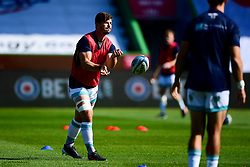 Worcester Warriors warm up prior to kick off  - Mandatory by-line: Ryan Hiscott/JMP - 13/09/2020 - RUGBY - Twickenham Stoop - London, England - London Irish v Worcester Warriors - Gallagher Premiership Rugby
