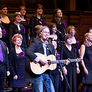 Images from the Loathian and Borders Police Choir's concert with Dougie MacLean at the Assembly Halls in Edinburgh. 9th December 2012.<br /> <br /> Copyright - Shaun Ward Photography
