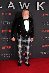 Outlaw King Premiere, Edinburgh, Friday 19th October 2018<br /> <br /> Outlaw King is a Netflix film and follows 14th century Scottish king Robert the Bruce prior to his coronation and through to his rebellion against the English, who at the time were occupying Scotland.<br /> <br /> Stars, crew and guests appear on the red carpet for the Scottish premiere.<br /> <br /> Pictured: James Cosmo<br /> <br /> Alex Todd | Edinburgh Elite media