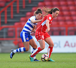 Chloe Arthur of Bristol City Women in action against Reading FC Women - Mandatory by-line: Paul Knight/JMP - 22/04/2017 - FOOTBALL - Ashton Gate - Bristol, England - Bristol City Women v Reading Women - FA Women's Super League 1 Spring Series