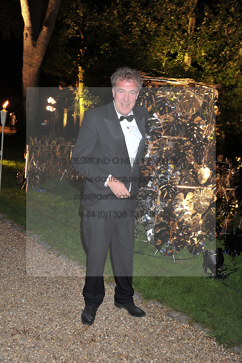 JEREMY CLARKSON at the Raisa Gorbachev Foundation Gala held at the Stud House, Hampton Court, Surrey on 22nd September 22 2011