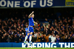 Goal, Gary Cahill of Chelsea scores, Chelsea 1-2 Tottenham Hotspur - Mandatory byline: Jason Brown/JMP - 02/05/2016 - FOOTBALL - London, Stamford Bridge - Chelsea v Tottenham Hotspur - Barclays Premier League