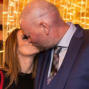 NLD/Rijswijk/20191119 - Boekpresentatie Raymond van Barneveld - Game Over, Raymond van Barneveld en partner Julia Evans