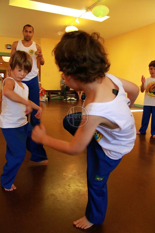 Grupo Bantos Capoeira Seattle last class for Spring 2010.