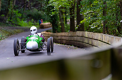 Boness Revival hillclimb motorsport event in Boness, Scotland, UK. The 2019 Bo'ness Revival Classic and Hillclimb, Scotland's first purpose-built motorsport venue, it marked 60 years since double Formula 1 World Champion Jim Clark competed here.  It took place Saturday 31 August and Sunday 1 September 2019. 61. Malcolm Wishart. Cooper Mark 8
