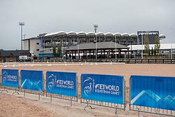 Hauptstadion<br /> Tryon - FEI World Equestrian Games™ 2018<br /> Hintergrundbilder vom Veranstaltungsgelände<br /> 10.September 2018<br /> © www.sportfotos-lafrentz.de/Stefan Lafrentz
