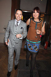 DAVID FURNISH and JANET STREET-PORTER at the Royal Academy of Art Summer Exhibition Preview Party on 4th June 2008.<br />