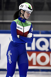 February 8, 2019 - Torino, Italia - Foto LaPresse/Nicolò Campo .8/02/2019 Torino (Italia) .Sport.ISU World Cup Short Track Torino - 500 meter Ladies Heats.Nella foto: Cynthia Mascitto..Photo LaPresse/Nicolò Campo .February 8, 2019 Turin (Italy) .Sport.ISU World Cup Short Track Turin - 500 meter Ladies Heats.In the picture: Cynthia Mascitto (Credit Image: © Nicolò Campo/Lapresse via ZUMA Press)