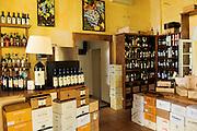 ITALY, Bolgheri (LI)<br /> Tenuta San Guido's wine bar/store