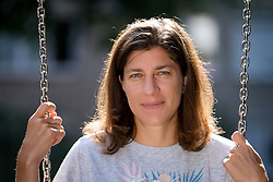 Portrat of ex-judoist Rasa Sraka, on August 9, 2019 in Ljubljana, Slovenia. Photo by Matic Klansek Velej / Sportida
