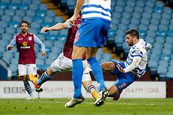Charlie Austin of QPR scores a goal to make it 2-3 - Photo mandatory by-line: Rogan Thomson/JMP - 07966 386802 - 07/04/2015 - SPORT - FOOTBALL - Birmingham, England - Villa Park - Aston Villa v Queens Park Rangers - Barclays Premier League.
