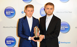 Mercury Prize. <br /> Disclosure attends the Barclaycard Mercury Prize at The Roundhouse, London, United Kingdom. Wednesday, 30th October 2013. Picture by i-Images