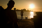 Police carefully monitor Cubans in an effort to prevent them from escaping from Cuba by boat or establishing relationships with anyone from the outside world.