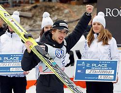 18.03.2012, Planica, Kranjska Gora, SLO, FIS Ski Sprung Weltcup,  im Bild Simon Ammann (SUI),   during the FIS Skijumping Worldcup, at Planica, Kranjska Gora, Slovenia on 2012/03/18. EXPA © 2012, PhotoCredit: EXPA/ Oskar Hoeher.