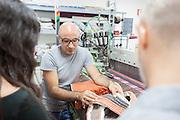 Soveria Mannelli (CZ) - Lanificio Leo. Emilio S. Leo (39) è l'artefice della trasformazione del Lanificio Leo da fabbrica storica di territorio a marchio di vocazione internazionale. Innovando la tradizione attraverso collaborazioni con designer da tutto il mondo.