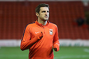 Coventry City defender Sam Ricketts (18)  during the Sky Bet League 1 match between Barnsley and Coventry City at Oakwell, Barnsley, England on 1 March 2016. Photo by Simon Davies.